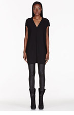 RICK OWENS Black Runway Floating Tunic for women
