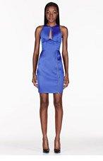 DION LEE Royal blue Radius Dress for women