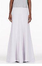 ROKSANDA ILINCIC Lavender Silk Trinity Skirt for women