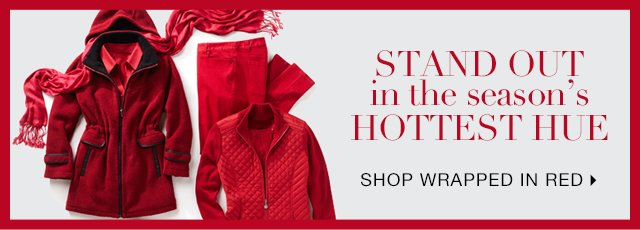 Stand Out in this Season's Hottest Hue