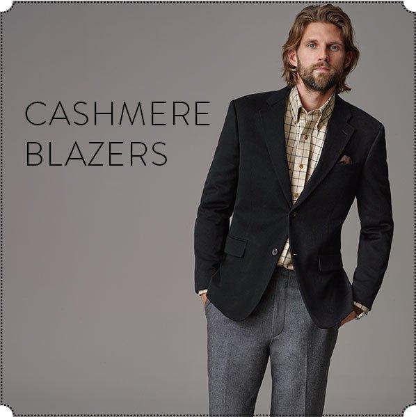 CASHMERE BLAZERS