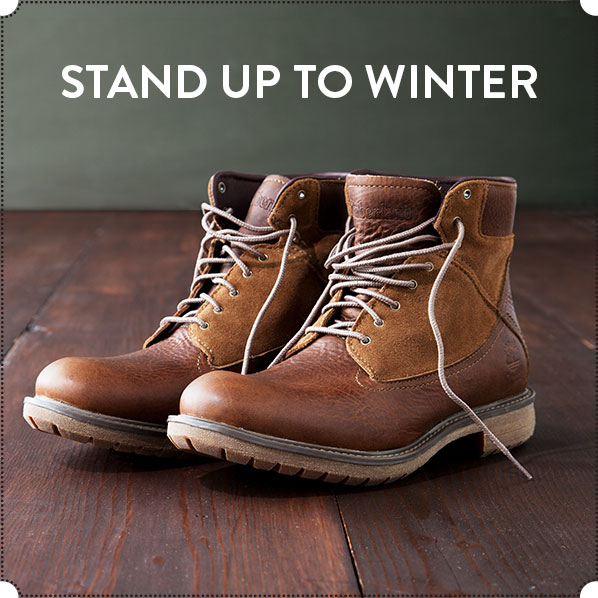 STAND UP TO WINTER