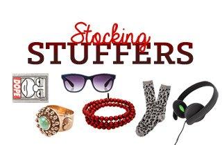 Holiday Shop: Stocking Stuffers
