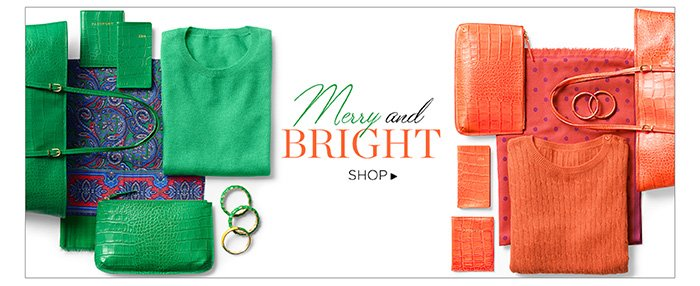 Merry Bright. Shop.