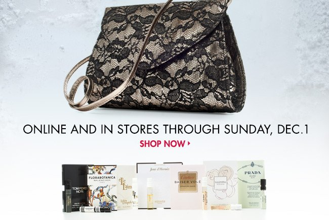 Free lace bag + samples: Gift of  Scent