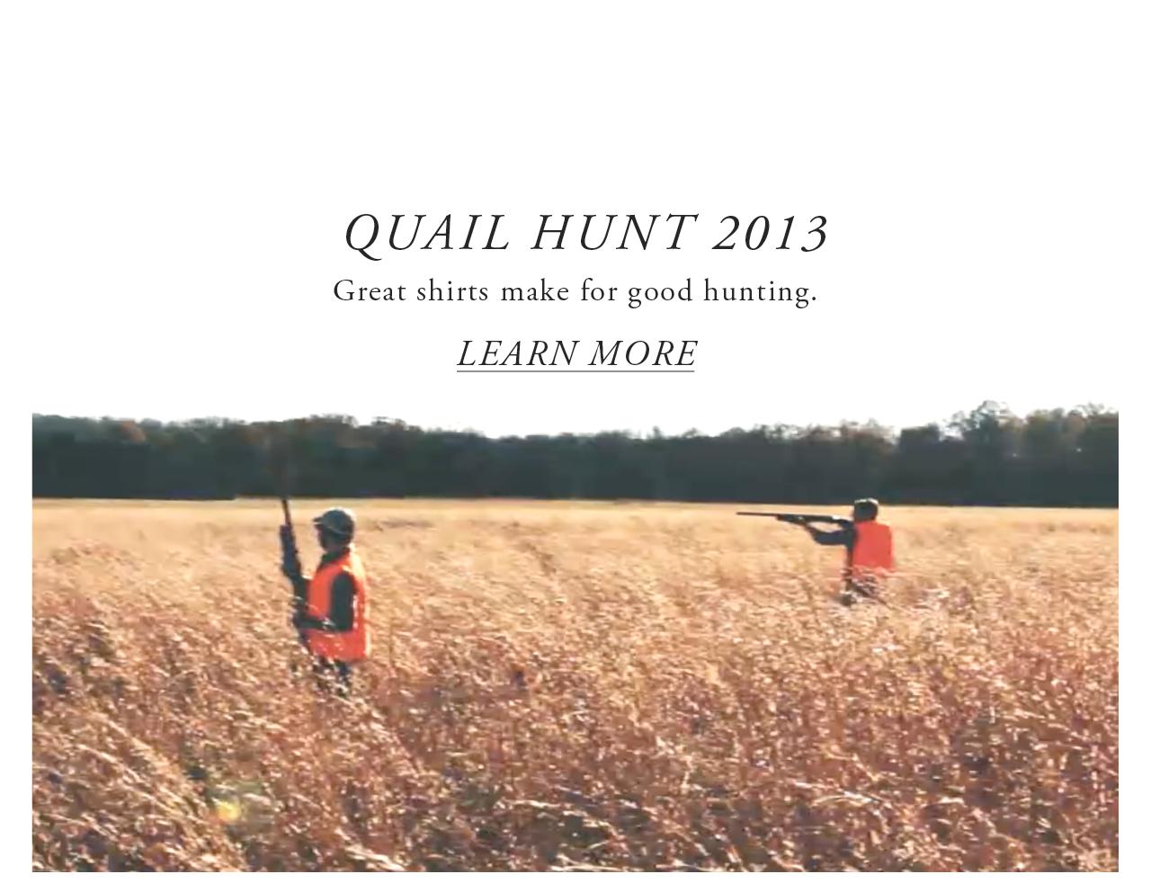 Ledbury Quail Hunt 2013