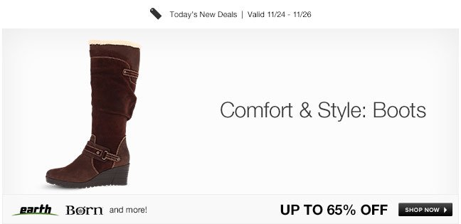 Comfort and Style: Boots
