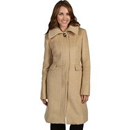 Ivanka Trump Faux Alpaca Hooded Coat