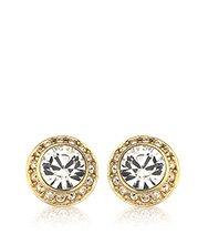 Angelic Pierced Earrings gold plated