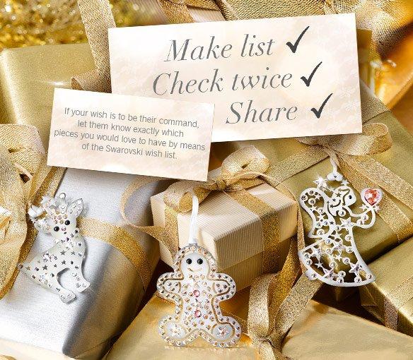 Swarovski wish list