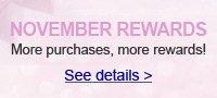 NOVEMBER REWARDS