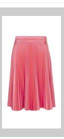 Pink Sunray Pleat Skirt