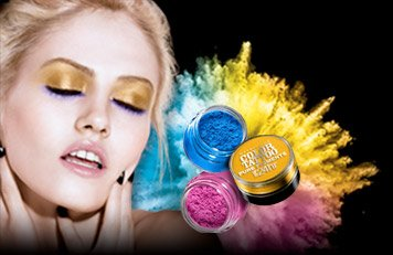 Or, dare to wear explosive color. New Color Tattoo® Pure Pigments. Up to 24 hour shadow.