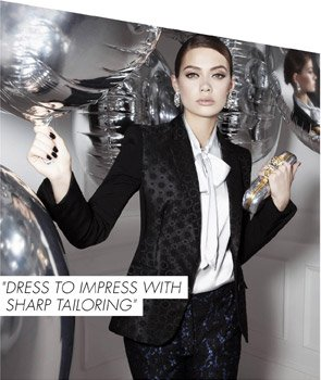 DRESS TO IMPRESS WITH SHARP TAILORING
