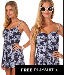 Womens Free Playsuit