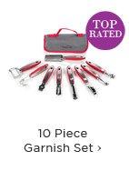 10 Piece Garnish Set