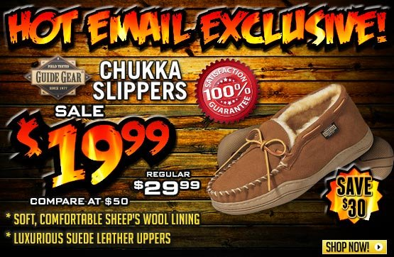 Men's Guide Gear® Chukka Mocs