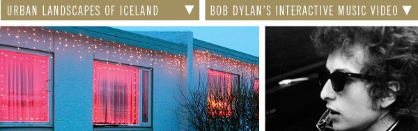 Bob Dylan's Interactive Music Video | Urban Landscapes of Iceland