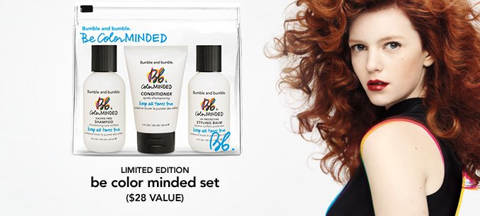 LIMITED EDITION  be color minded set  ($28 value)