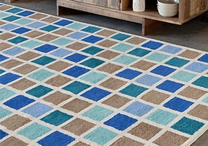 Sophisticated Shapes: Rugs