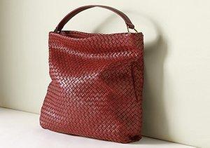 Totally Textured: Woven Handbags