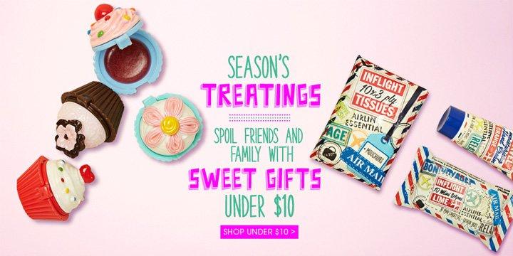 Season's Treatings - Gifts Under $10