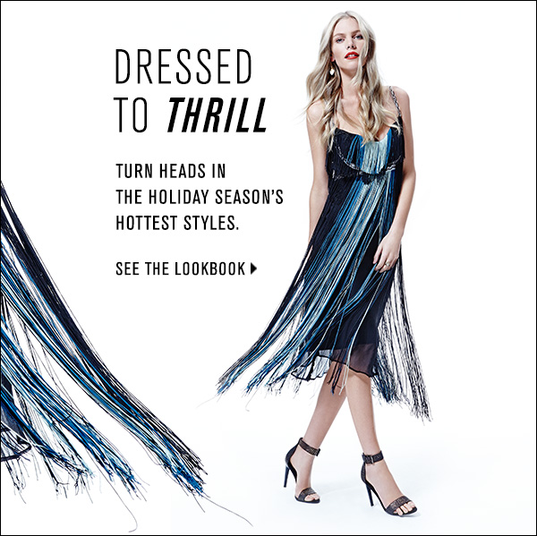 Turn heads in our edit of the holiday season's best party dresses.  >>