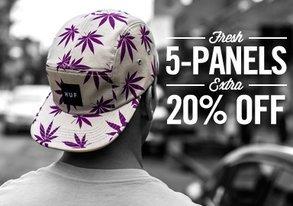 Shop Fresh 5 Panels: EXTRA 20% Off