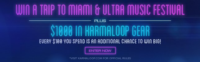 Win a Trip to Ultra Music Festival from Karmaloop