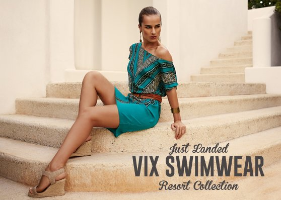 JUST LANDED: New Beachwear from the Resort 2013 Collection by Vix