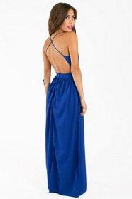 X Back Maxi Dress 40