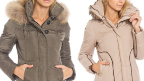 Women's Down and Wool Coats