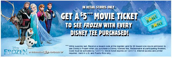 Frozen Gift with Purchase!