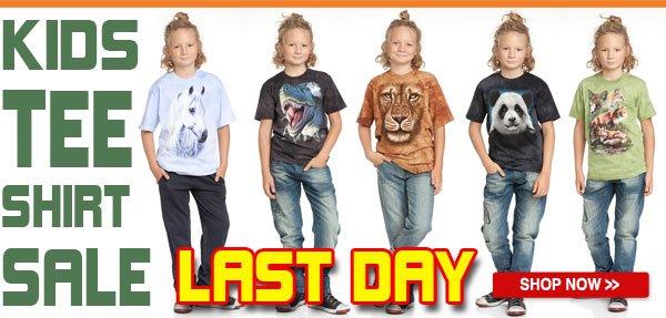 The Mountain Kids Tee Shirt Sale!