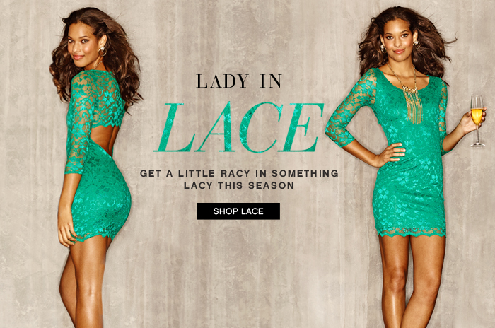 Get Racy in Something Lacy this Season