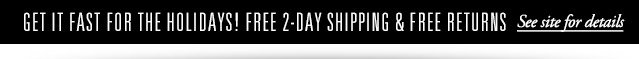 Free 2-Day Shipping & Free Returns!
