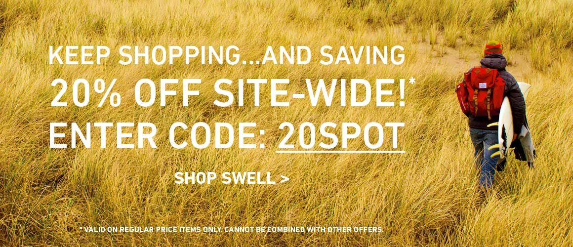 20% Off Site-Wide! Enter Code: 20SPOT