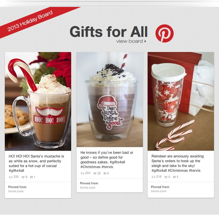 Gifts for All Pinterest Board