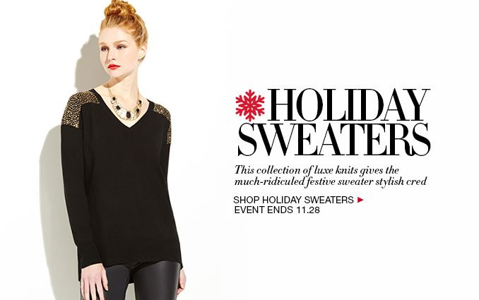 Shop Holiday Sweaters