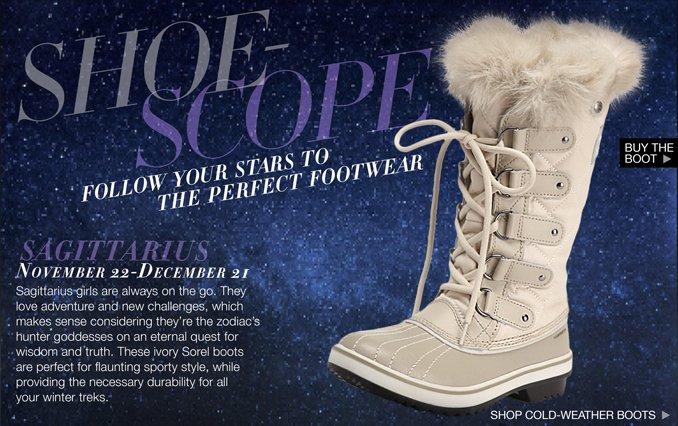 Shop Shoe Horoscope: Sagittarius