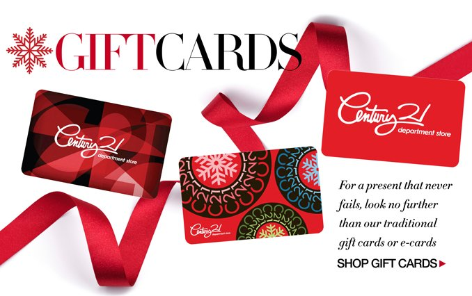 Shop Century 21 Gift Cards