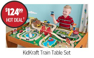 KidKraft Train Table Set - $124.99 - HOT DEAL‡