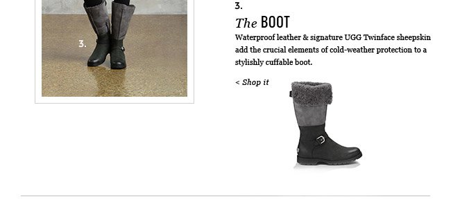 3. THE BOOT - SHOP IT
