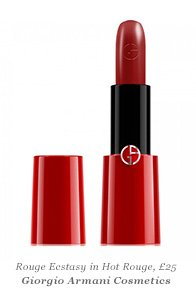 Rouge Ecstacy in Hot Rouge, Giorgio Armani Cosmetics