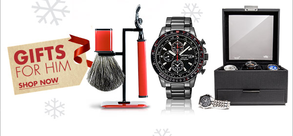 GIFTS FOR HIM SHOP NOW
