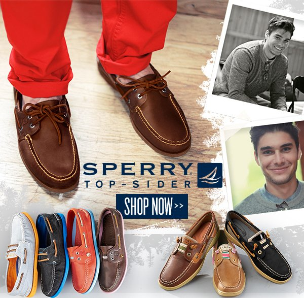 Holiday Must-Haves: Sperry Top-Sider