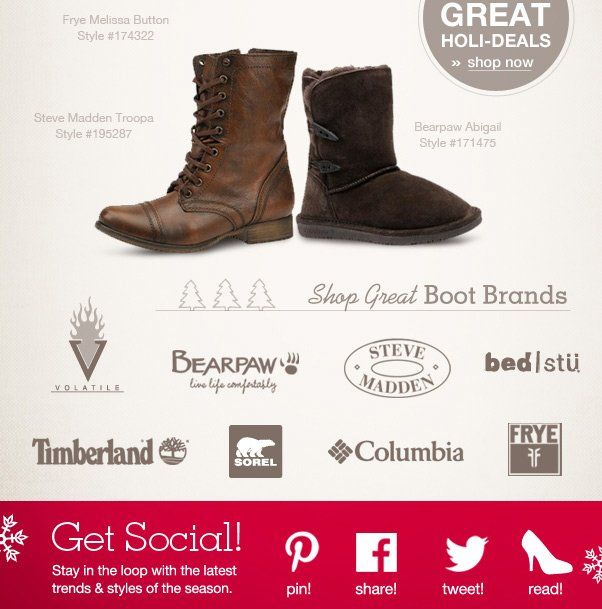 Shop Top Boots By Brand!