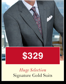 Signature Gold Suits - $329