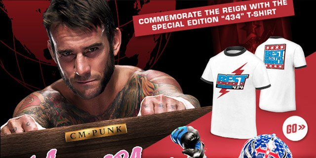 CM Punk 434 Special Edition  T