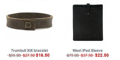 griffin | Finn Leather Bracelet